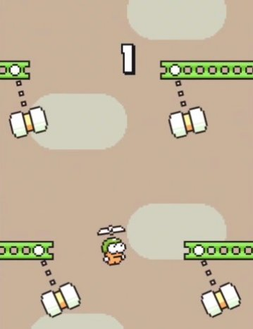 Swing Copters Android app