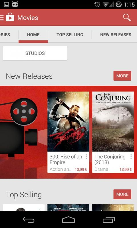 how to unpin google play movie