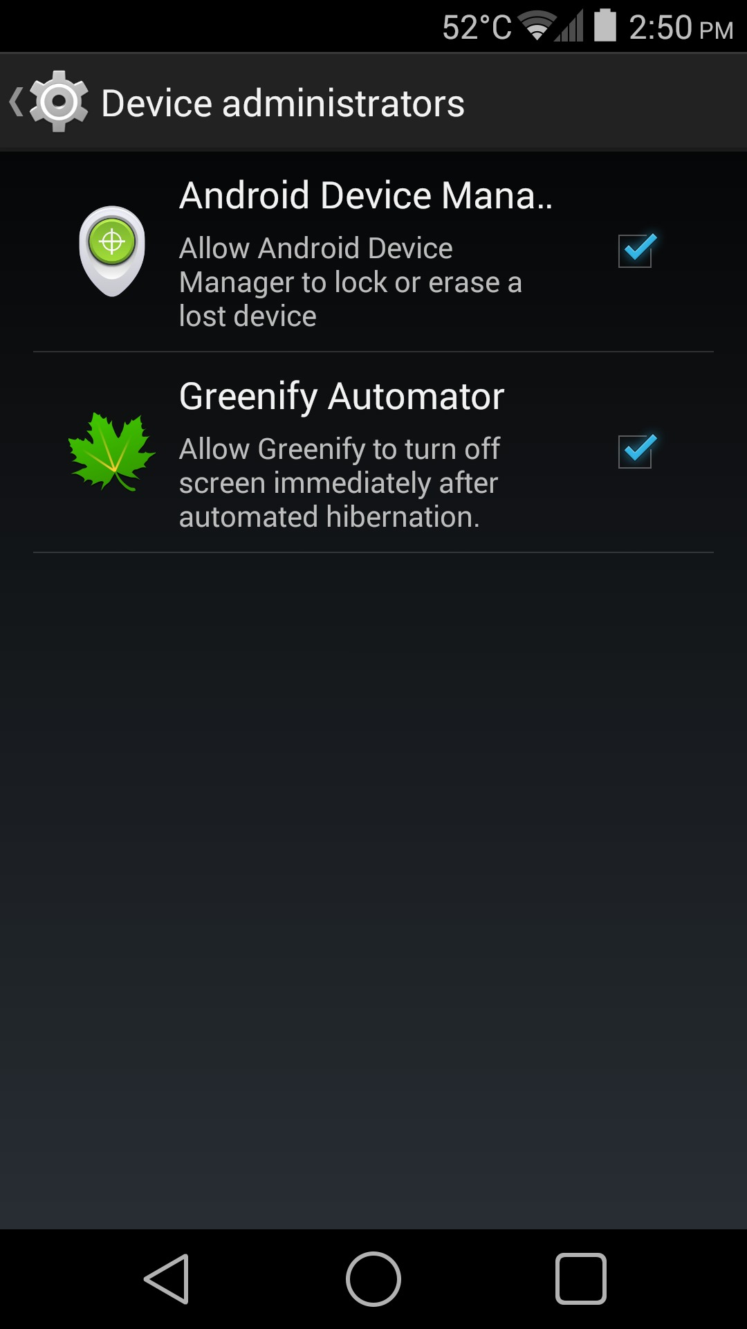 Android Greenify