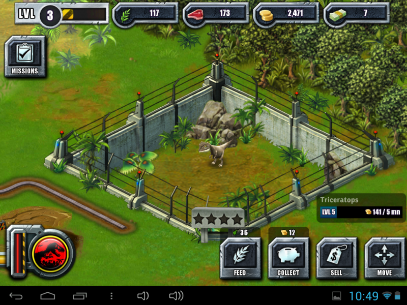 Jurassic world The game для Android - mob.ua - YouTube