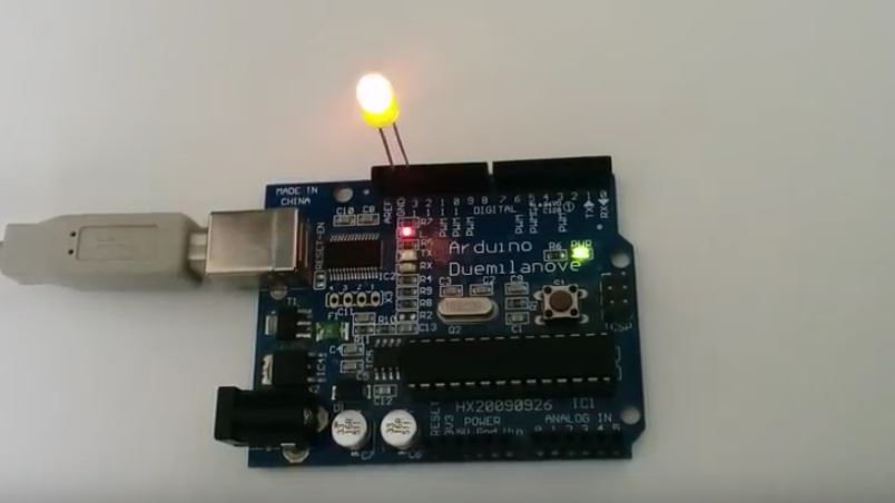 Arduino Greek Guide LED