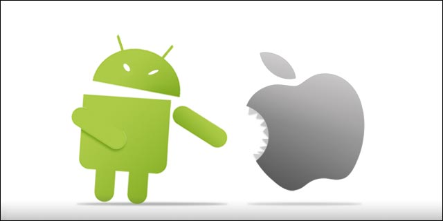 Android vs iOS Smartphone OS Mobile wars