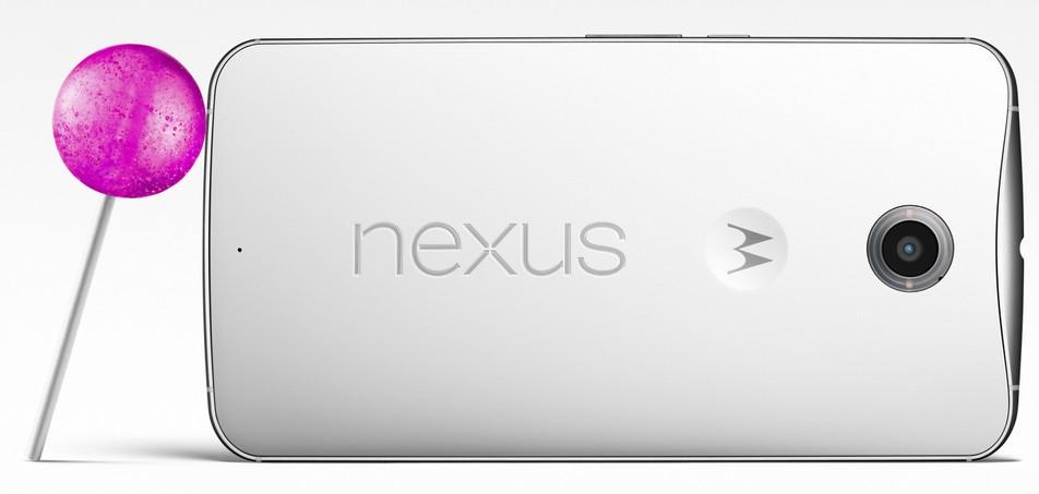 Nexus 6 and Nexus 9 tap to wake